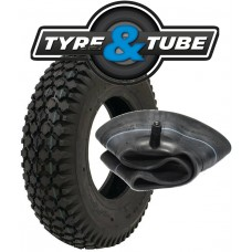 4.80/4.00-8 Tyre Set 4 PR Star Tread Pattern