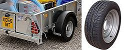 Trailer wheels & rims