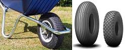Tyres for wheelbarrows & garden trucks